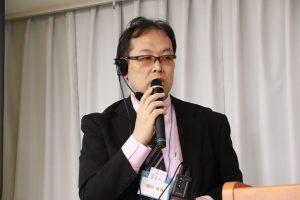 司会進行 銭田良博 副会長