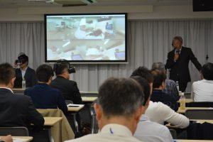 木村裕明 会長 技術習得・教育の立場からみたJNOSの未来:VR教育デモ